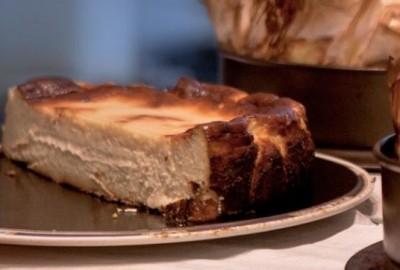 Tarta de queso La Viña San Sebastiián