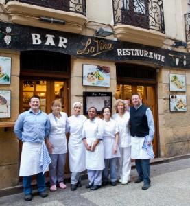 equipo bar restaurante viña donostia