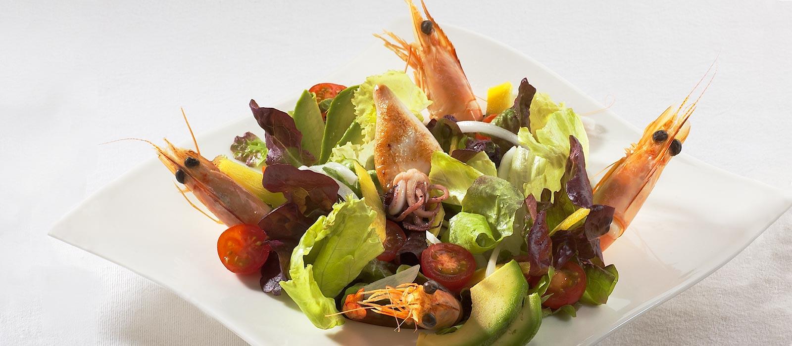 ensalada-lagostinos-la-vina-donostia